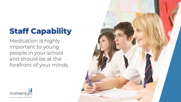 Medication training for schools sample slides