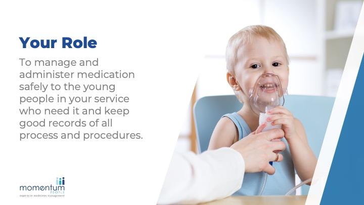 Medicines Management for Children's Services sample slide